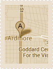 Map of Ardmore Historic District